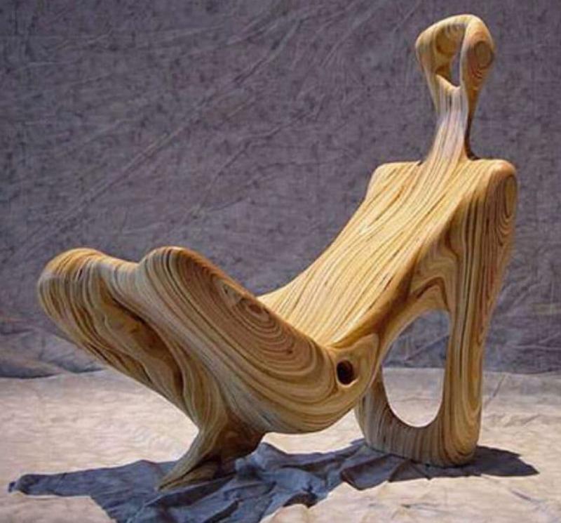 Кресло-Скульптурая для гостиной 1