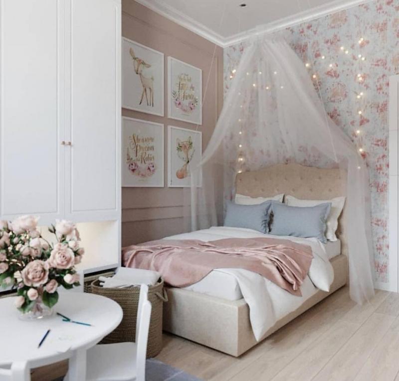 Декор для спальни в стиле прованс 1
