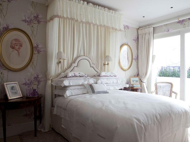 Декор для спальни в стиле прованс 2
