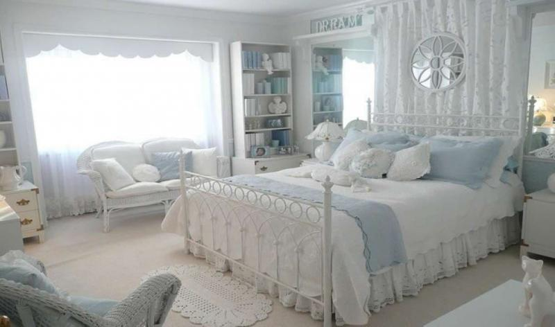 Декор для спальни в стиле прованс 3