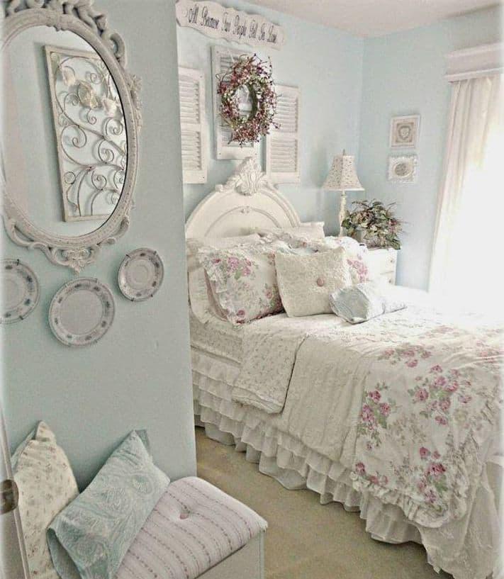 Декор для спальни в стиле прованс 4