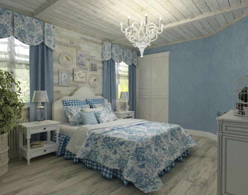 Тумбочка для спальни в стиле прованс 3