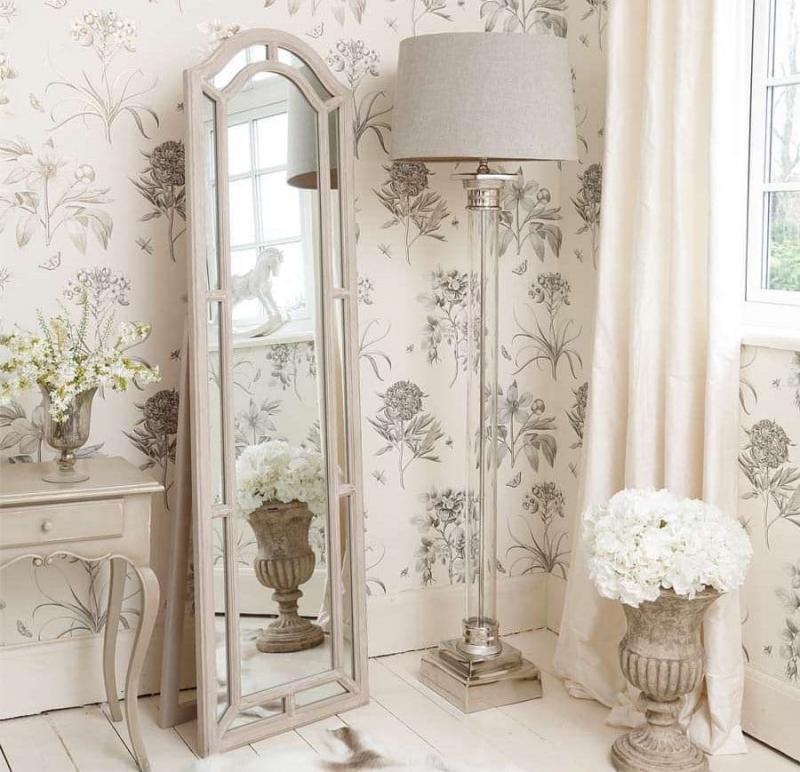 Зеркало для спальни в стиле прованс 2