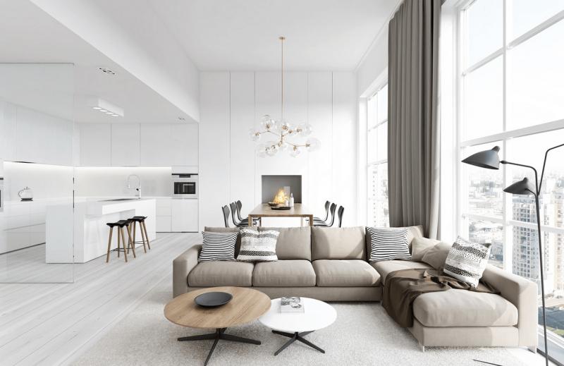 Дорогой дизайн интерьера (потолки) 1