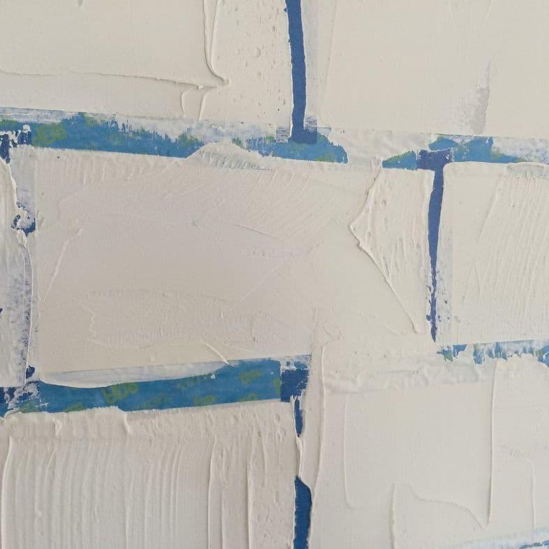 Искусственная кирпичная стена своими руками 2