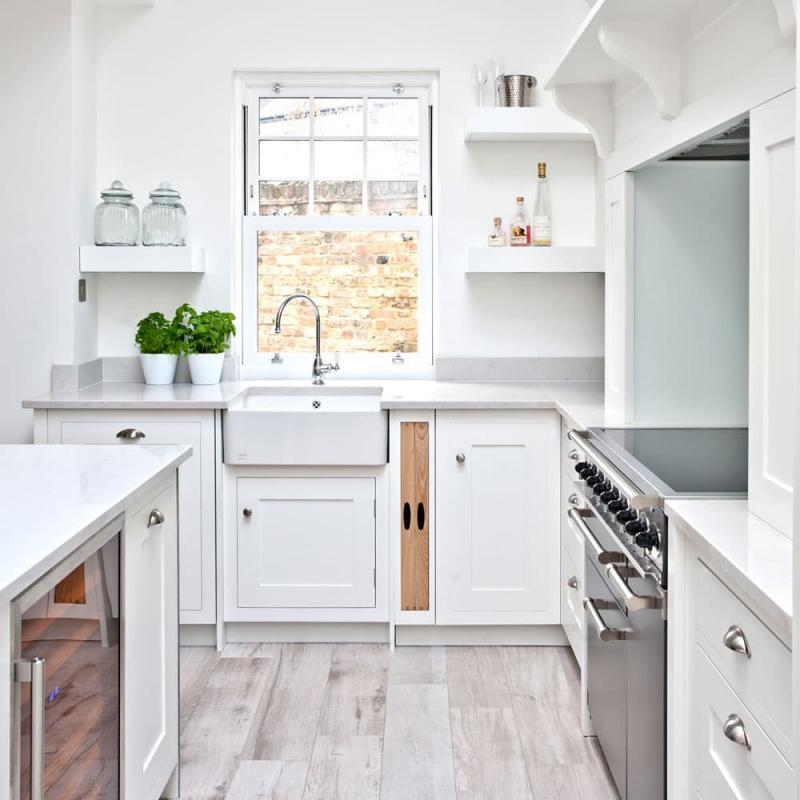 Дизайн белой кухни 2