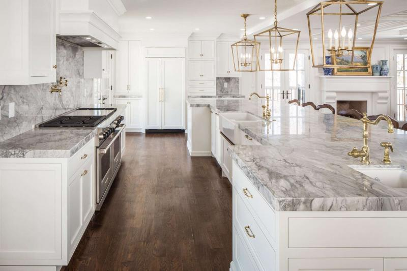 Дизайн белой кухни 4
