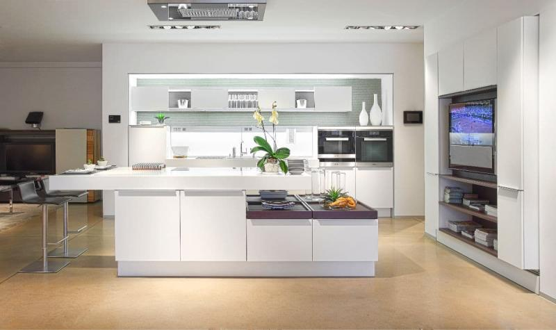 Дизайн белой кухни 7