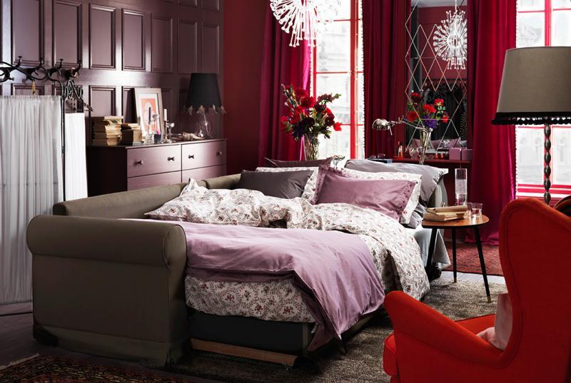 Гостиная со спальным местом диван-кровать 2