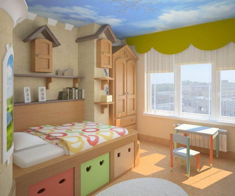 Детская комната от 2-х до 5-ти 1