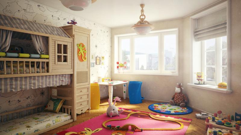 Детская комната от 2-х до 5-ти 10