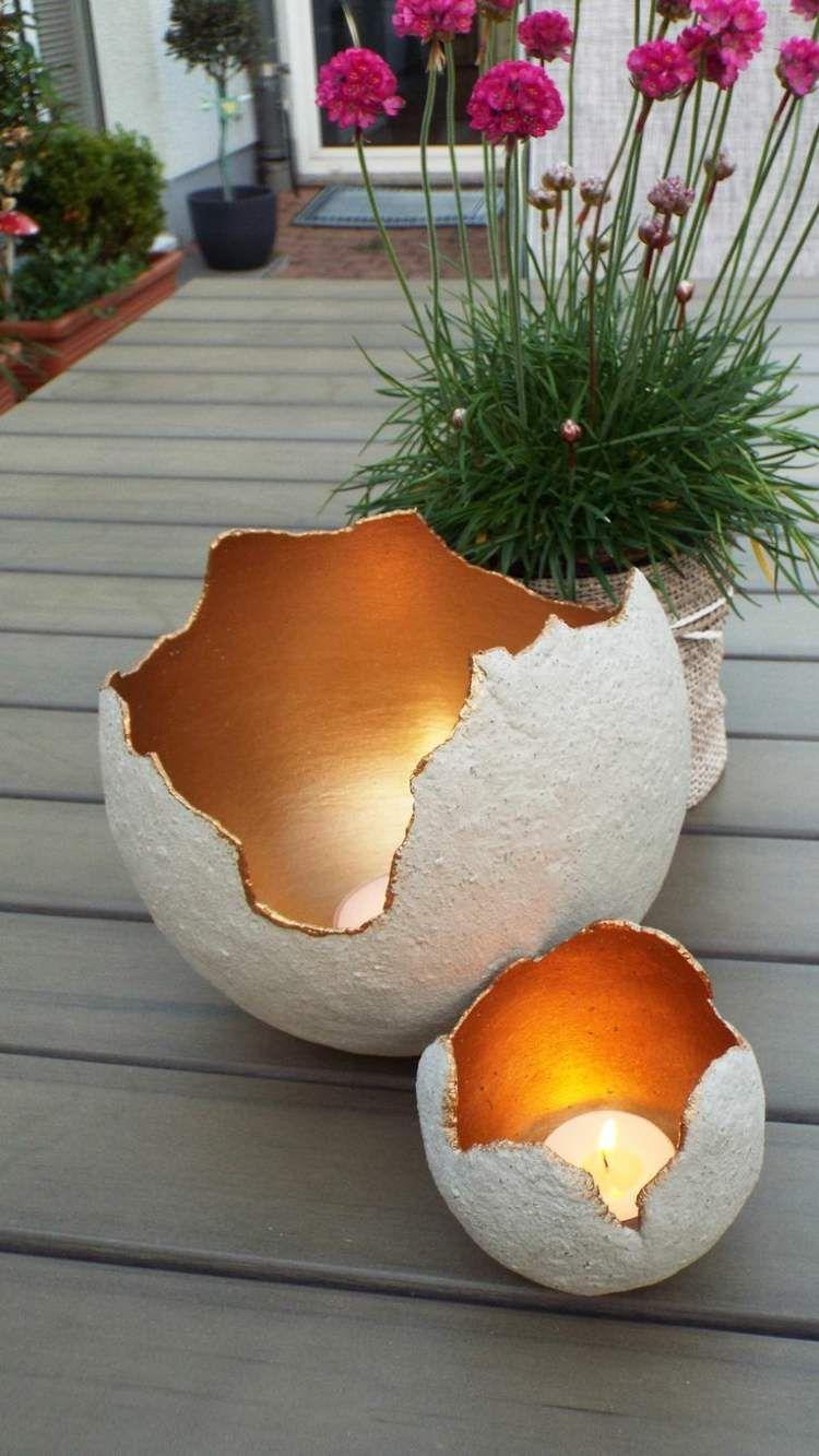 Декоративный подсвечник Драконьи яйца 1