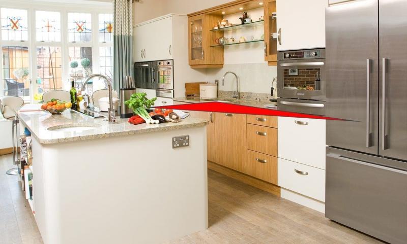 Правило рабочего треугольника на кухне 9