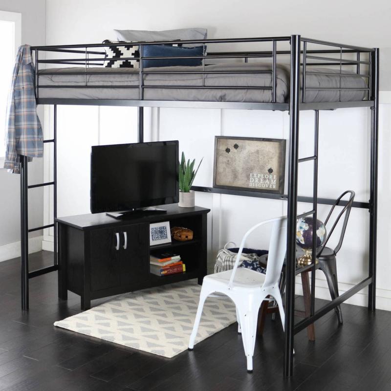Кровать-чердак в инерьере 3