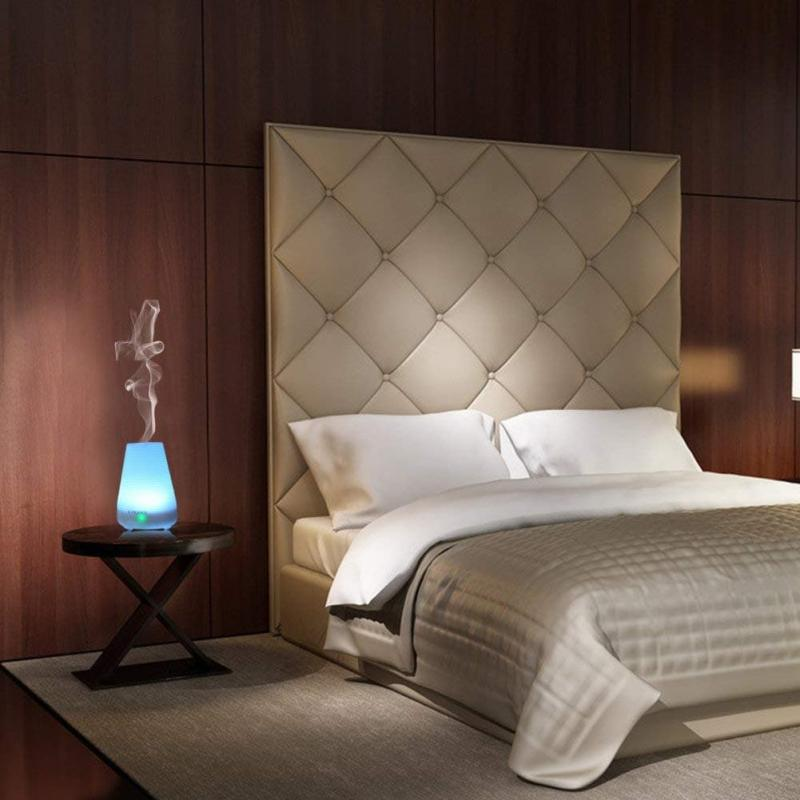 Аромалампа в интерьере спальни 1