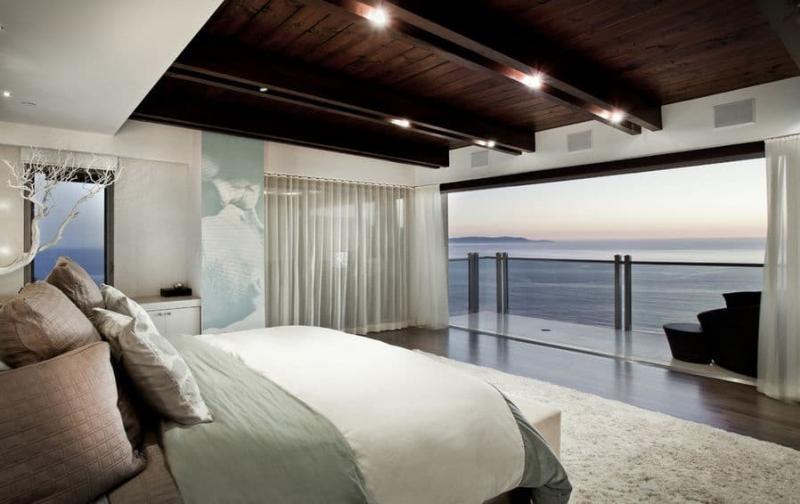 Дзен-минимализм в интерьере спальни 5