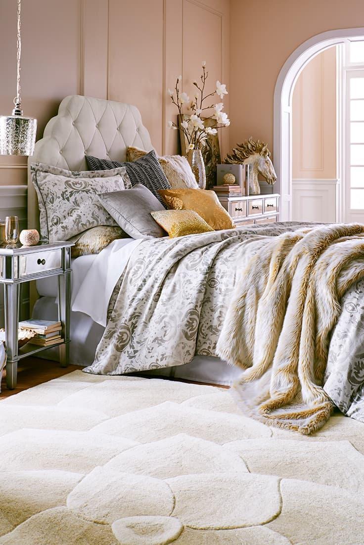 Роскошь в интерьере спальни 1