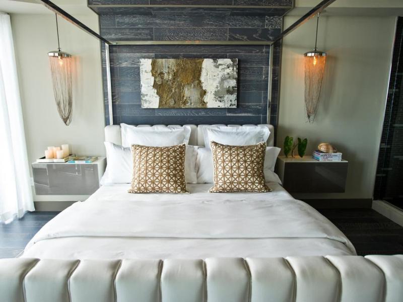 Роскошь в интерьере спальни 2