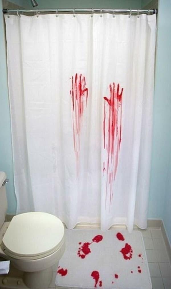 Смешные шторки для ванной 2