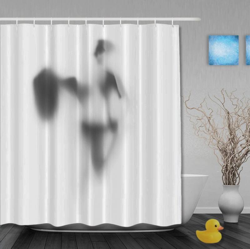 Смешные шторки для ванной 3