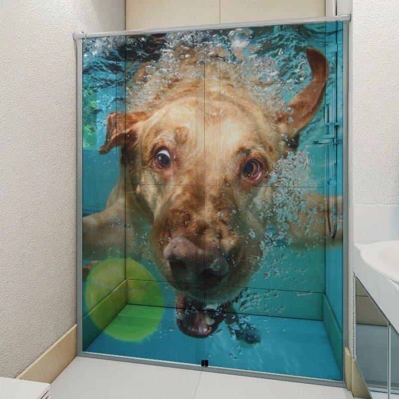 Смешные шторки для ванной 7