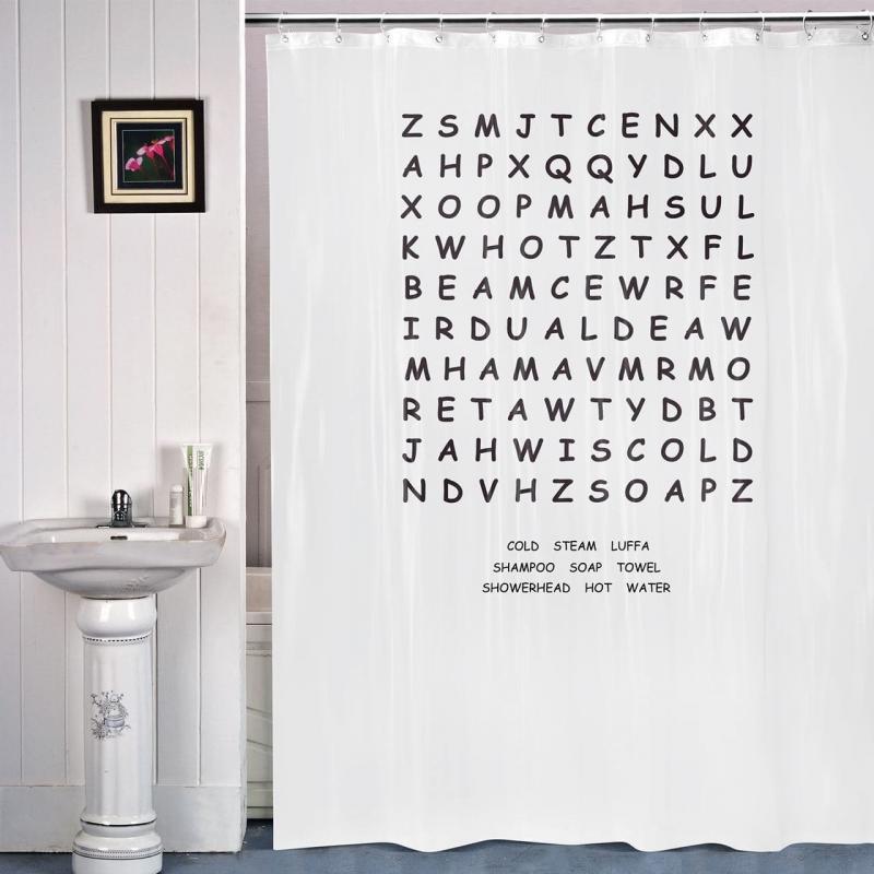 Смешные шторки для ванной 8