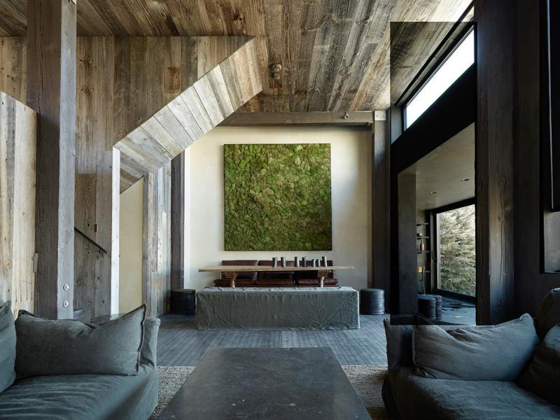 Вертикальные сады в интерьере 1