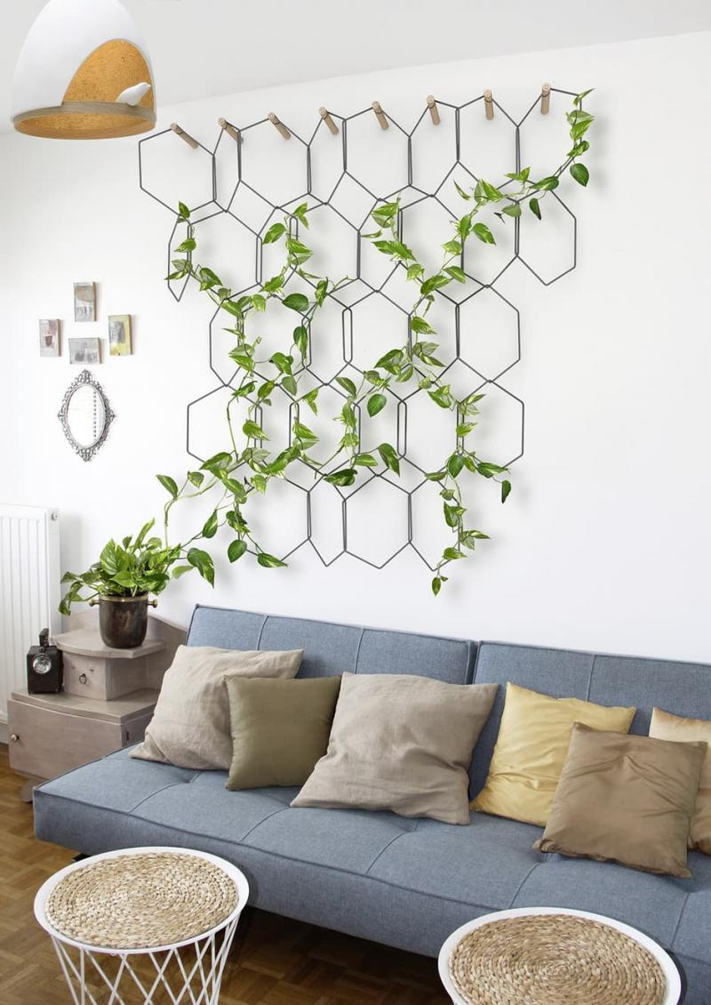 Вертикальные сады в интерьере 3