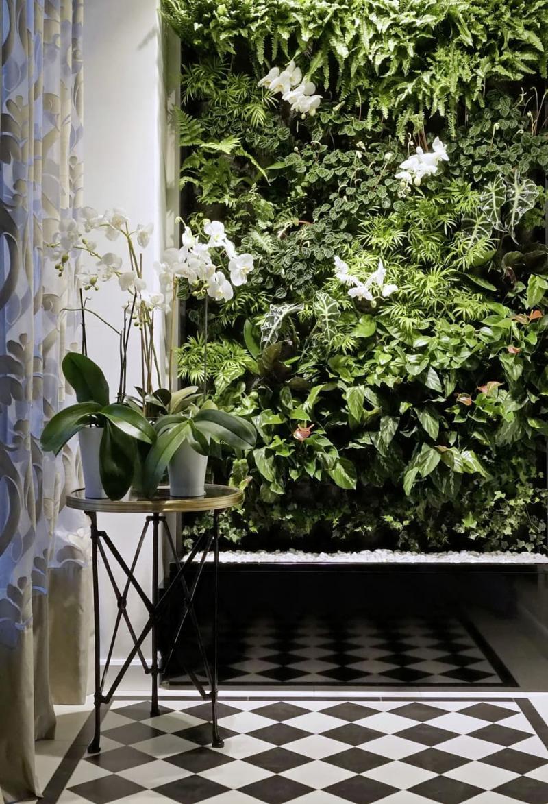 Вертикальные сады в интерьере 6