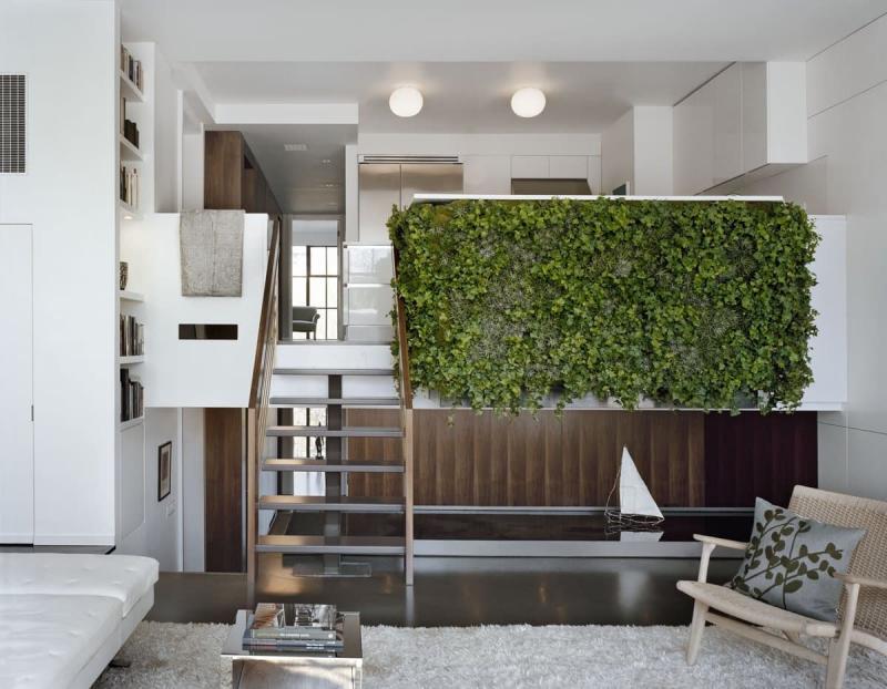 Вертикальные сады в интерьере 7