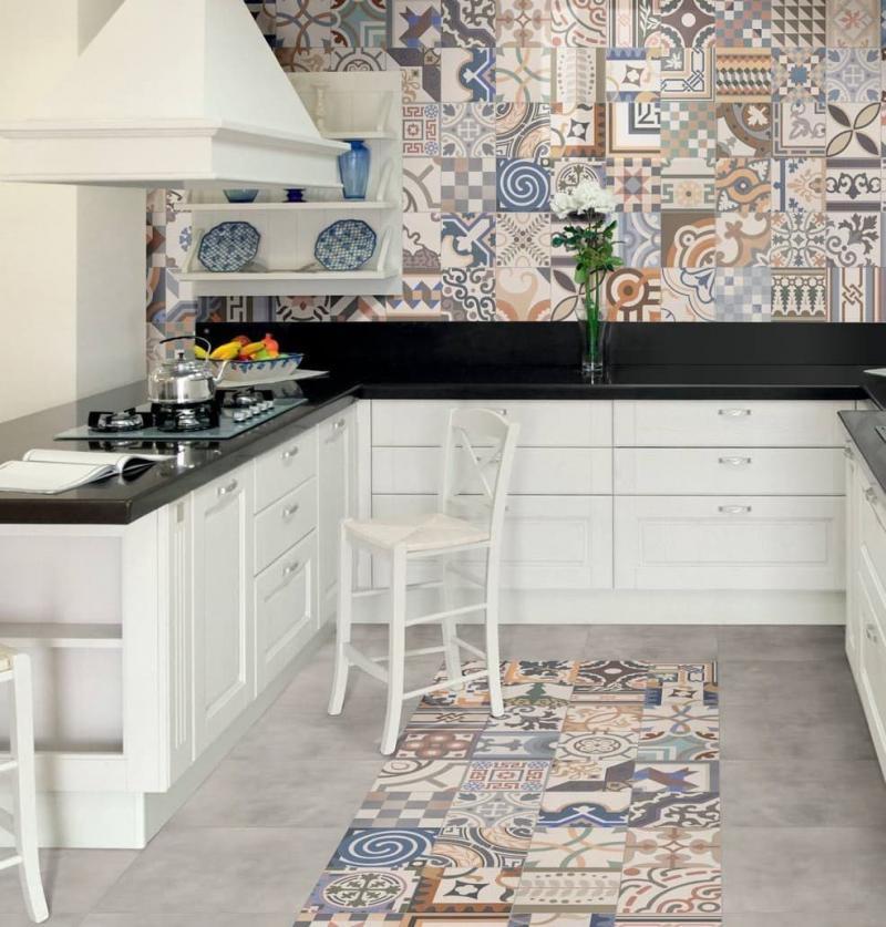 Мароканская плитка в интерьере кухни 2