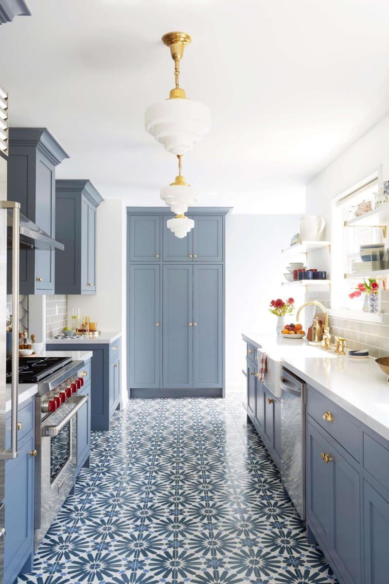 Мароканская плитка в интерьере кухни 5