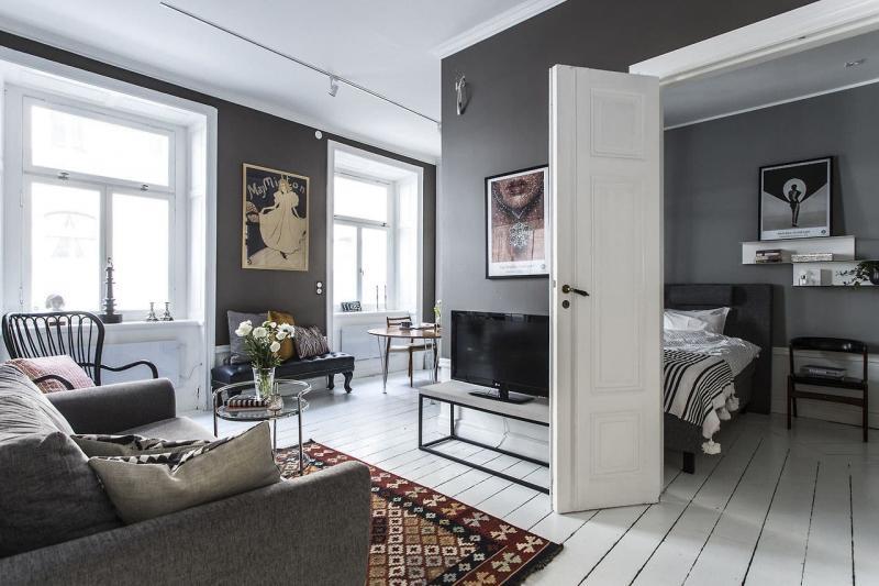 Практичный интерьер гостиной 2