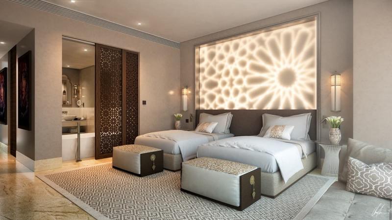 Дополнительное освещение в спальне 1