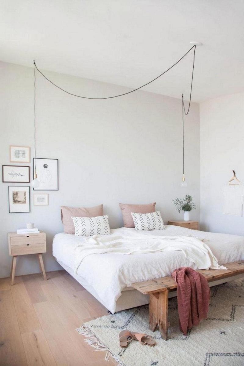 Минималистичный интерьер спальни 1