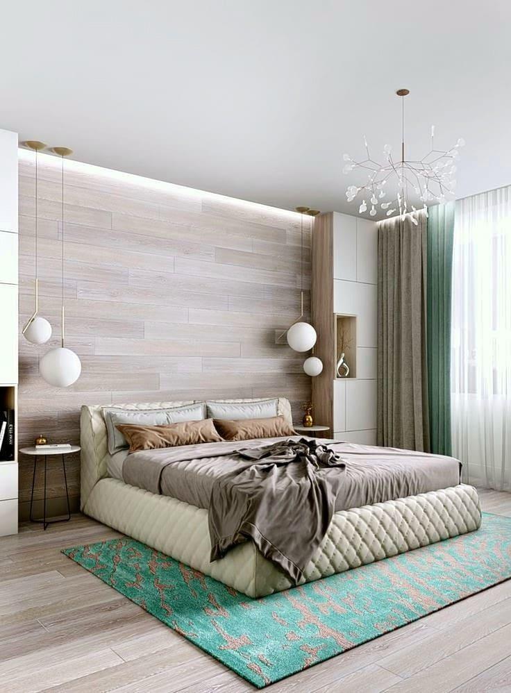Минималистичный интерьер спальни 2