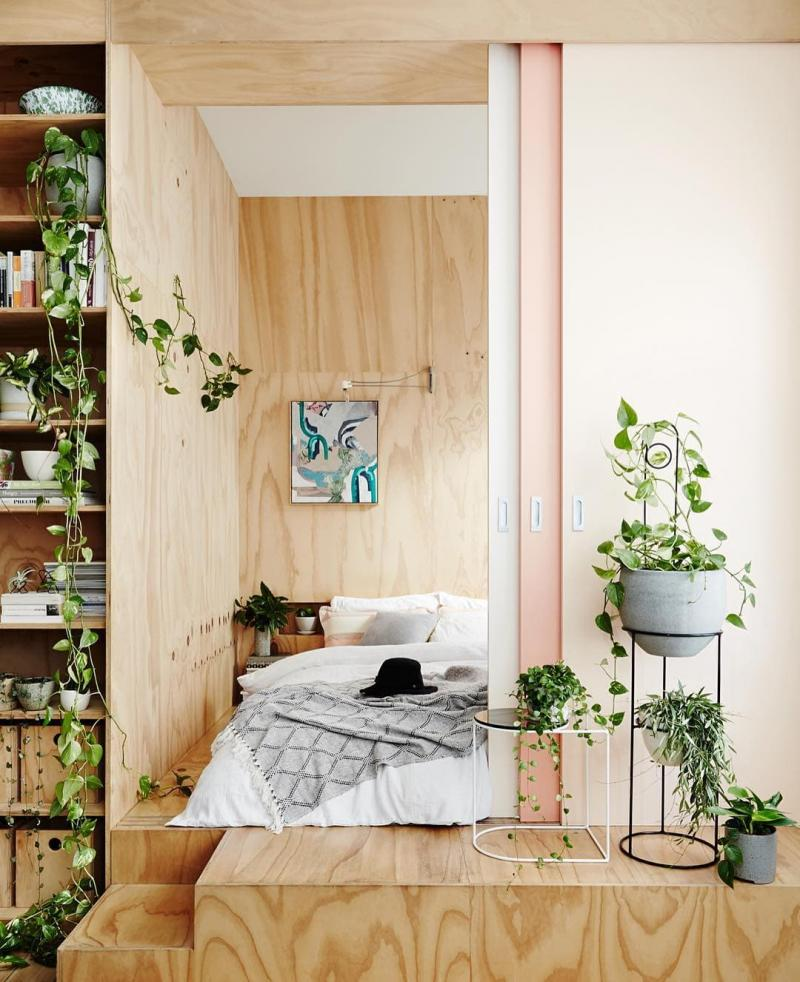 Продление спальни в коридор 1
