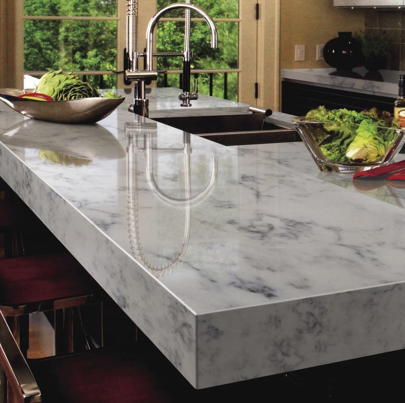 Столешница и камня на кухне 1