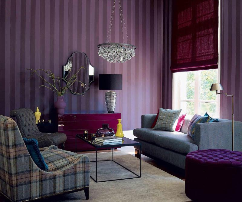 Фиолетовая гостиная 2
