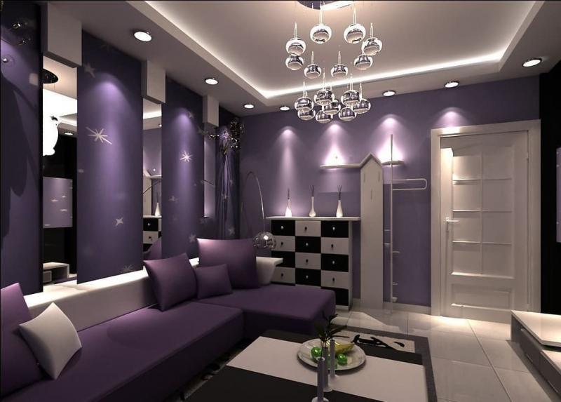 Фиолетовая гостиная 3