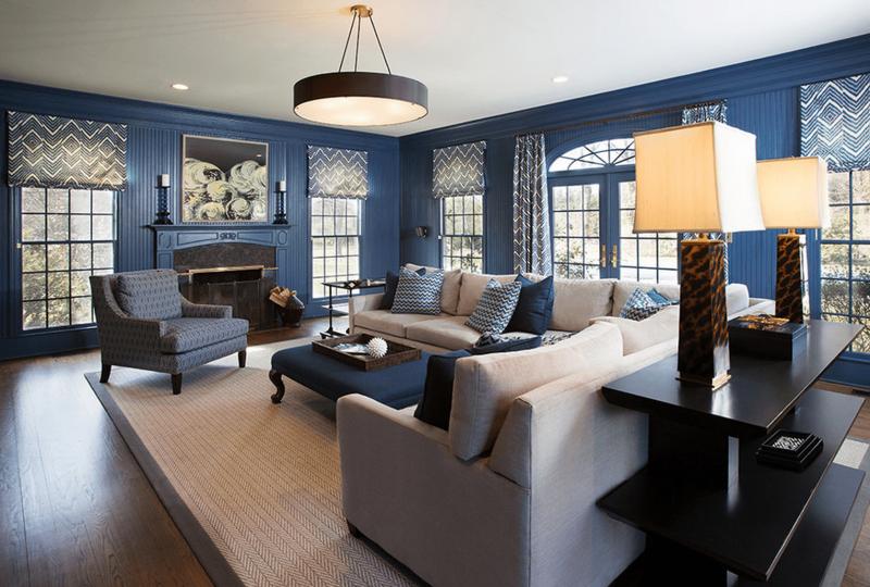 Синяя гостиная 2