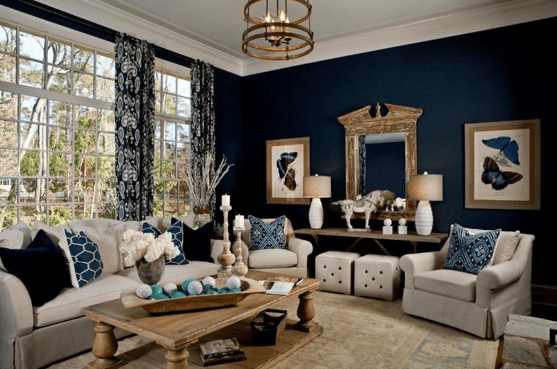 Синяя гостиная 3