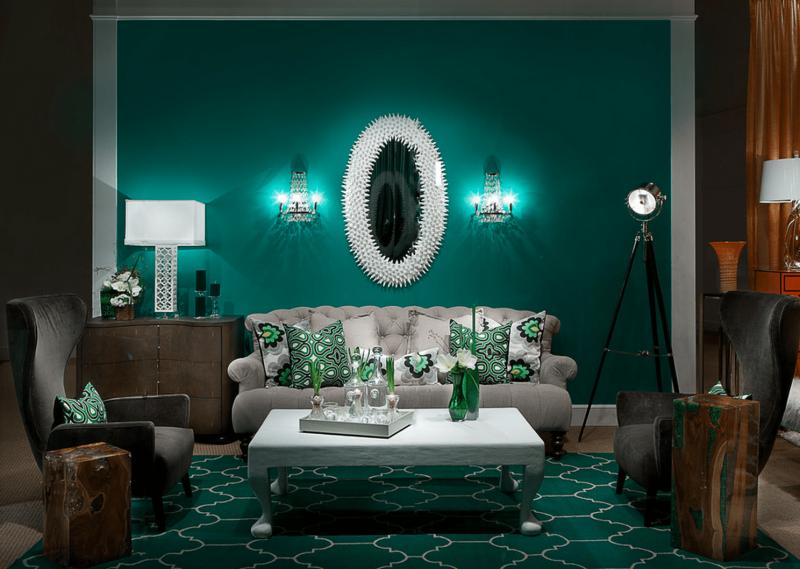 Зеленая гостиная 1