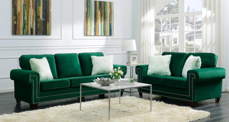 Зеленая гостиная 2