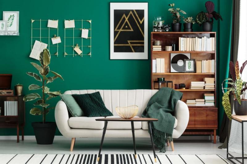 Зеленая гостиная 3