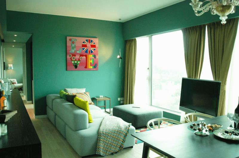 Зеленая гостиная 4