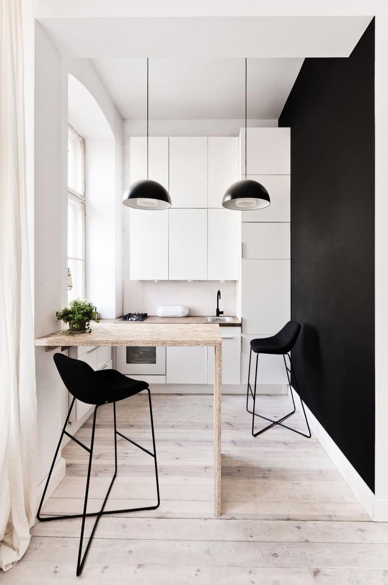 Кухня в стиле минимализм 1