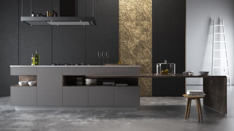 Кухня в стиле минимализм 10