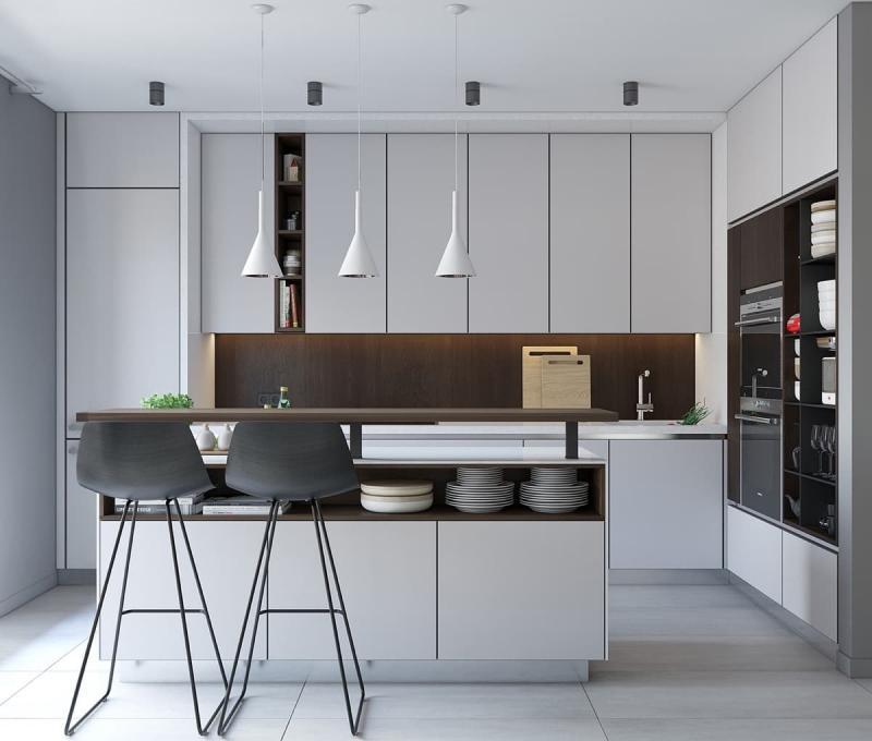 Кухня в стиле минимализм 4