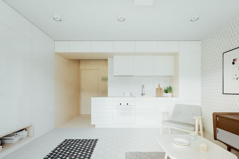 Кухня в стиле минимализм 9